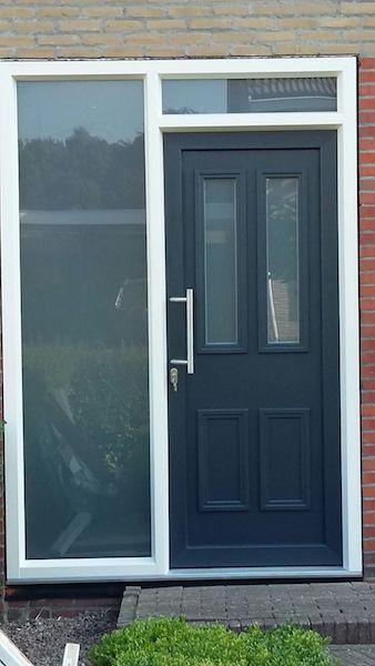 voordeur vervangen kunststof voordeur